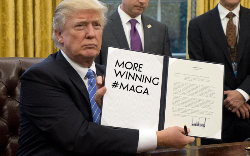 Trump Accomplishments in Year One - Significant, Major Conservative Policy Achieved!