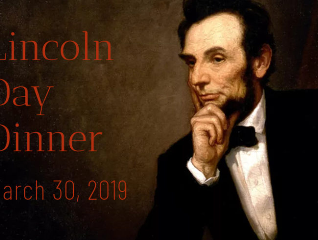 Lincoln Day Dinner 2019