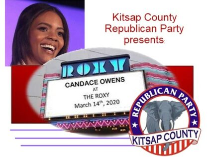 Candace Owens is coming to Bremerton!