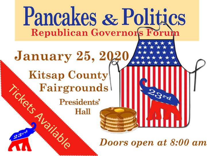 Pancakes and Politics Breakfast