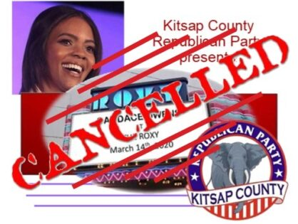 Candace Owens at the Roxy Cancelled