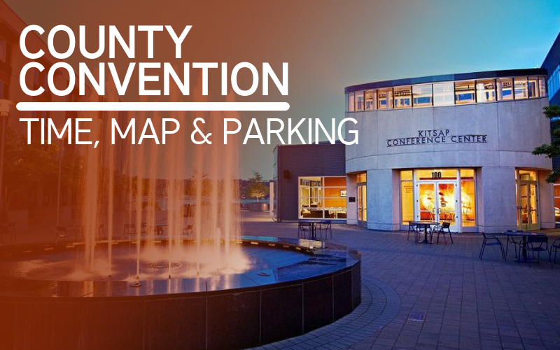 County Convention - Date, Time, Map & Parking details