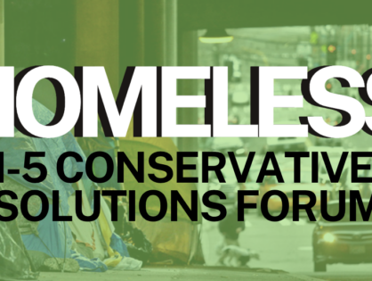 HOMELESS | A Conservative Solutions Forum
